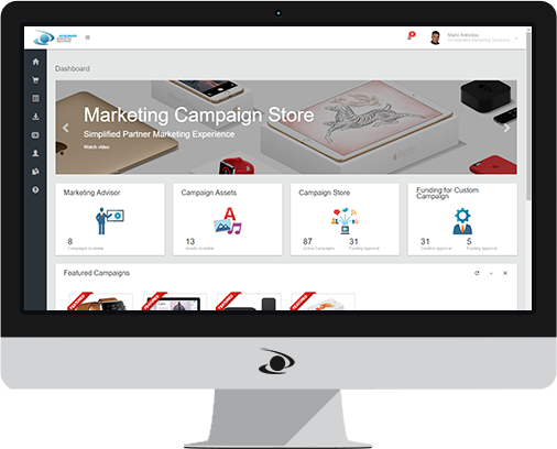 Marketing Campaign Store - Accelerated Marketing Solutions Product